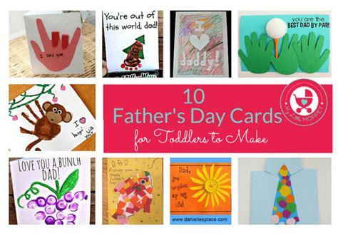 fathers day cards to make 10 easy s day cards for toddlers to make