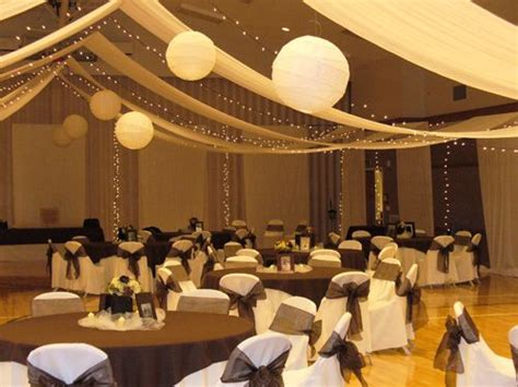 how much does draping cost for a wedding lds cultural hall wedding decorations mormon cultural