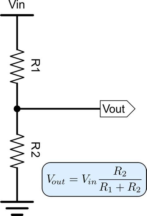 resistance voltage divider formula clipart voltage divider