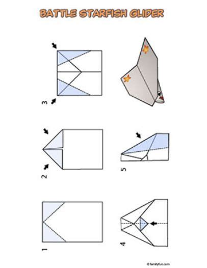 How To Make Paper Airplane Gliders - how to make a paper airplane glider