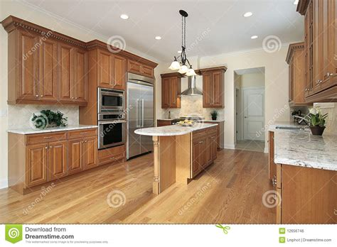 new construction kitchen kitchen in new construction home royalty free stock image