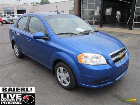 2011 bright blue chevrolet aveo lt sedan 51855910 gtcarlot car color galleries