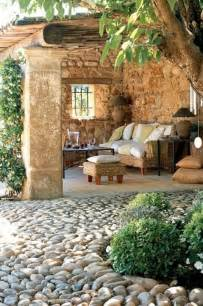 Cozy Backyard Ideas 57 Cozy Rustic Patio Designs Digsdigs