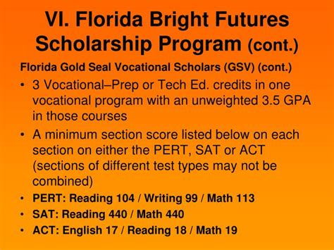 Bright Futures Scholarship Essay by Ppt Welcome Mount High School 9 Th And 10 Th Grade Parents Students Powerpoint