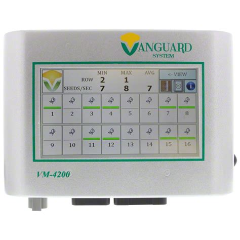 Planter Monitors by 502805 Vanguard Vm4200 Planter Monitor Console Shoup