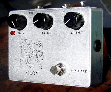 Klon Knobs by Big Knob Pedals Klon Brand New 18v Pro Boost