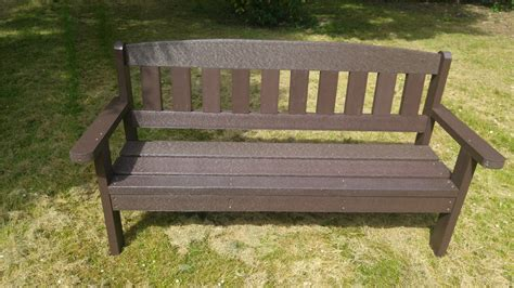 composite bench composite recyled plastic benchs maintenance free