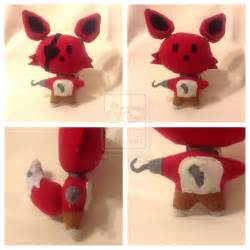 Fnaf foxy plush sold by decepti gal2313 artisan crafts dolls plushies