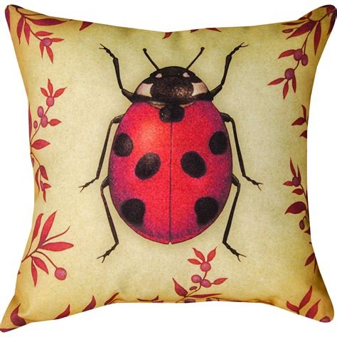 Bug Pillows by Insects Bug Outdoor Pillow 18 Square On Sale Dfohome