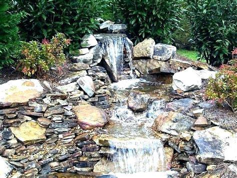 diy pond waterfall ideas small backyard waterfalls cool