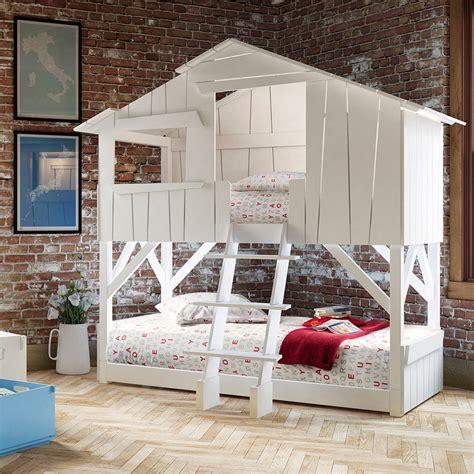treehouse beds treehouse kids bunkbed by cuckooland notonthehighstreet com