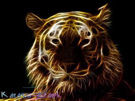 abstract tiger wallpaper tiger abstract art hd wallpaper pictures