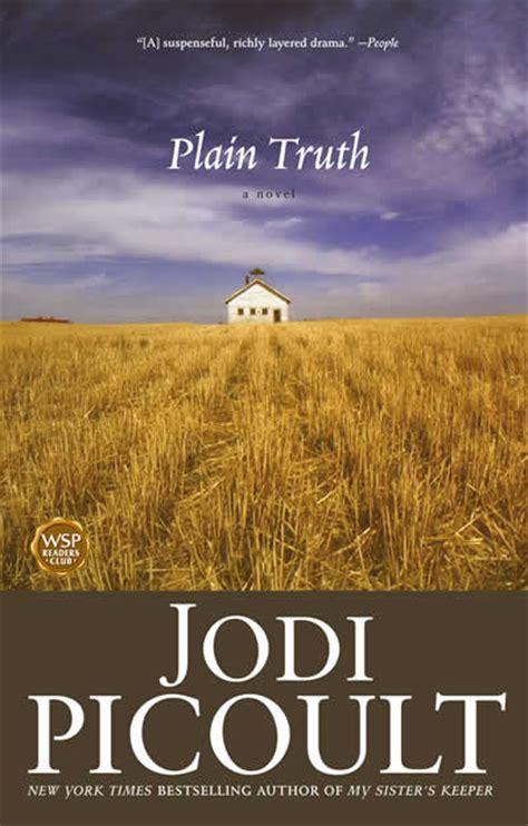 jodi picoult plain truth shespeaks reviews