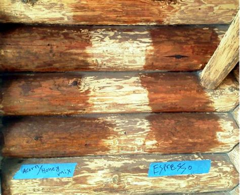 Log Cabin Stain Colors by Log Home Refinishing Wi Mn Edmunds And Company