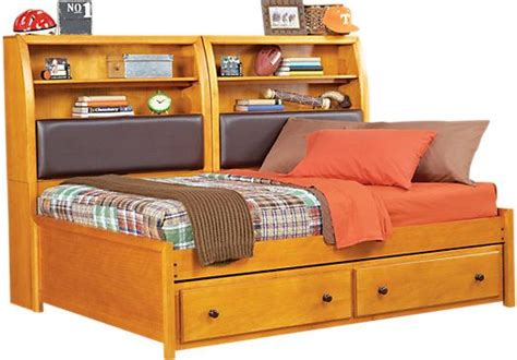 rooms to go day beds shop for a santa cruz pine full bookcase daybed at rooms