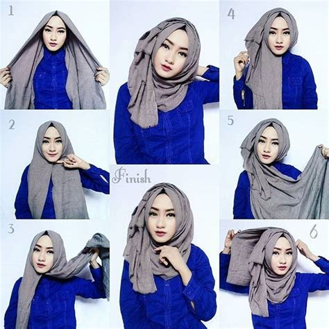 tutorial hijab pashmina daily 17 best ideas about pashmina hijab tutorial on pinterest