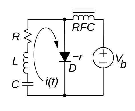 what is gunn diode in file gunn diode oscillator circuit svg wikimedia commons