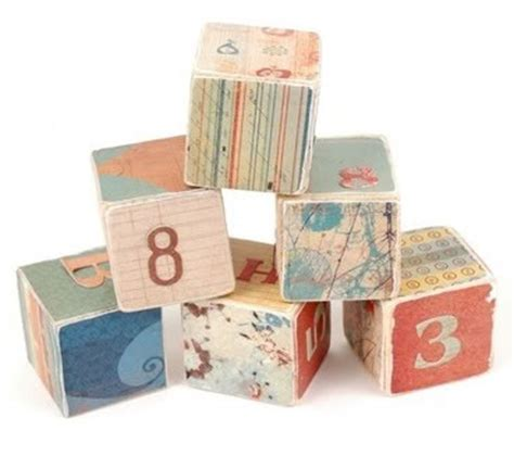 Handmade Baby Blocks - editors best of 2008 the coolest toys dolls and baby