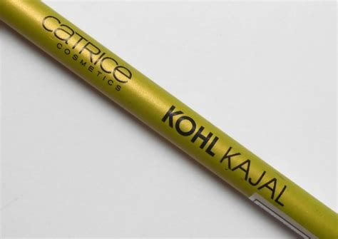 Catrice Sharpener Green catrice cosmetics 130 greentings from kohl kajal review