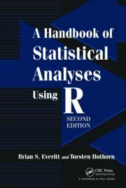 a handbook of statistical analyses using r third edition books torsten hothorn