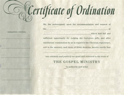 deacon ordination certificate template search results for ordination certificate for deacon