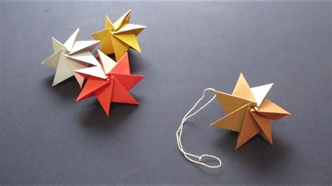 origami christmas decorations step by step how to origami ornament クリスマスオーナメント doovi