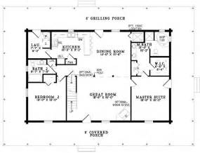 one story cabin floor plans best 25 2 bedroom house plans ideas that you will like on