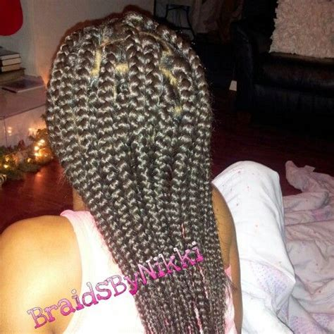 box braids bans poetic justice braids using my rubber band method box