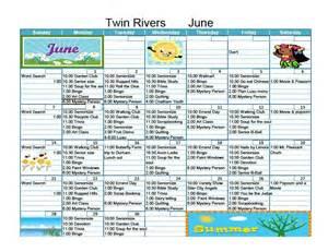 activity calendar template for seniors senior activity calendar invitations ideas