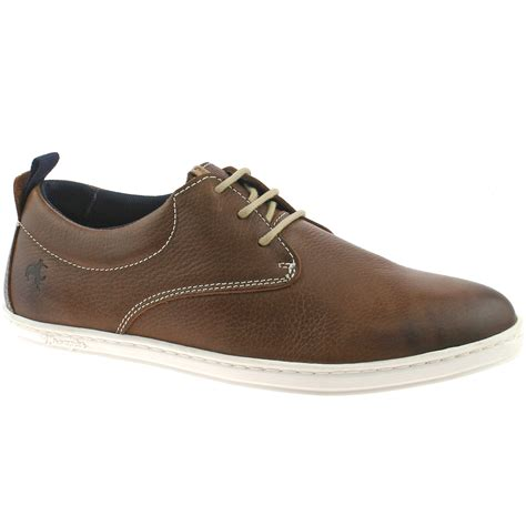 R A Shoes Leather mens wrangler woodland derby leather casual shoes size uk