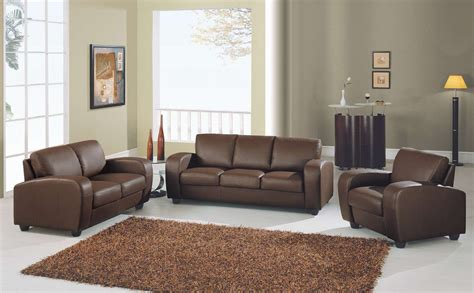 Living Room With Brown Sofa Brown Sofa Sets Plushemisphere