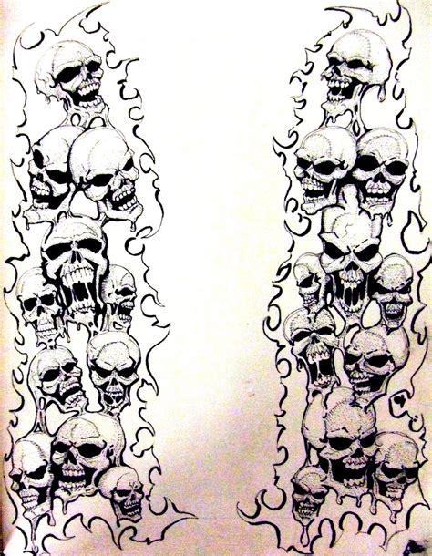 melting designs melting skulls by bobbyjackwright on deviantart