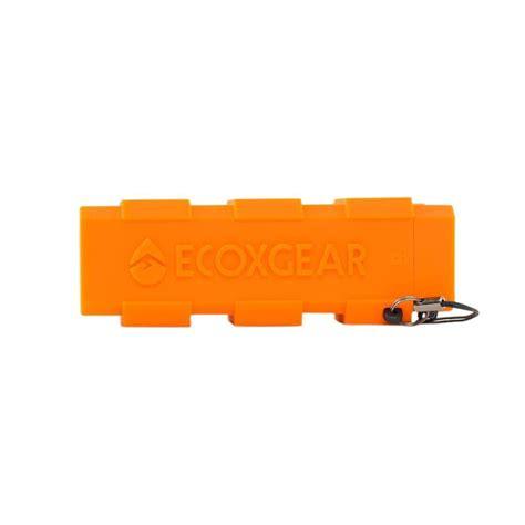 ecoxgear ecocharge waterproof power bank orange gdi