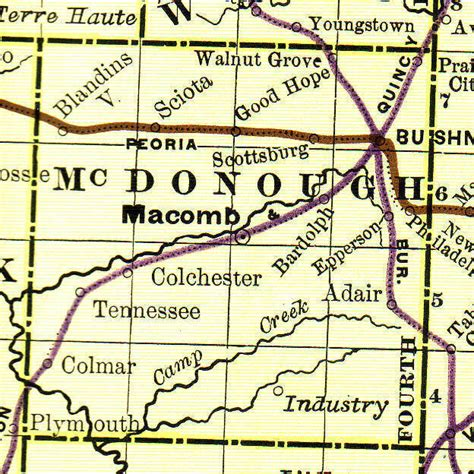 Mcdonough County Il Court Records Mcdonough County Illinois Genealogy Vital Records