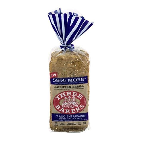 7 whole grain bread three bakers whole grain bread 7 ancient grains from