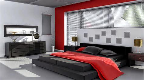 black red white bedroom decorating ideas chambre rouge et noir