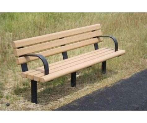 park bench cost greenwood recycled plastic park bench occ outdoors