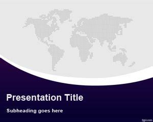 global powerpoint template free global business powerpoint
