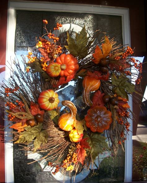 Front Door Wreaths For Fall Fall Wreath For My Front Door Fall