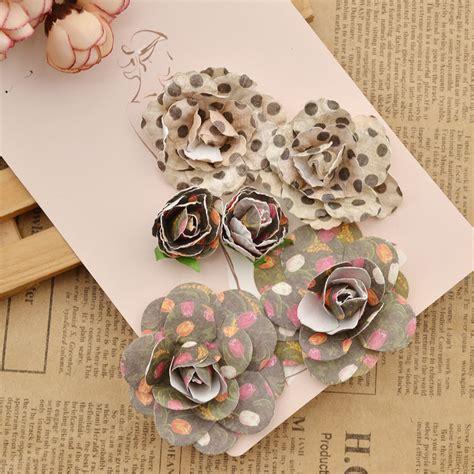 Handmade Paper Diy - handmade colourful paper flowers diy scrapbooking album