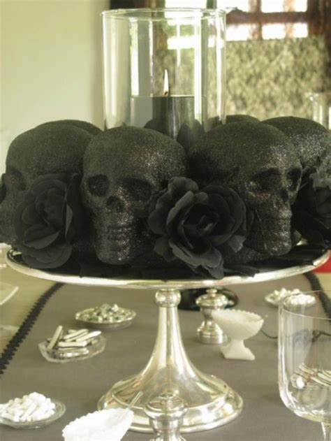 skull decorations for the home home decor ideas skulls and skeletons table design