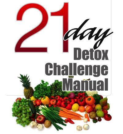 21 Detox Challenge by 21 Day Detox Challenge Born Again Fitness