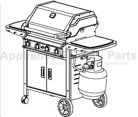 patio chef ss48 bbq parts