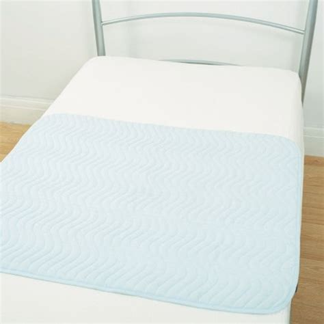 absorbent bed pads buy washable absorbent bed pad with wings from our single