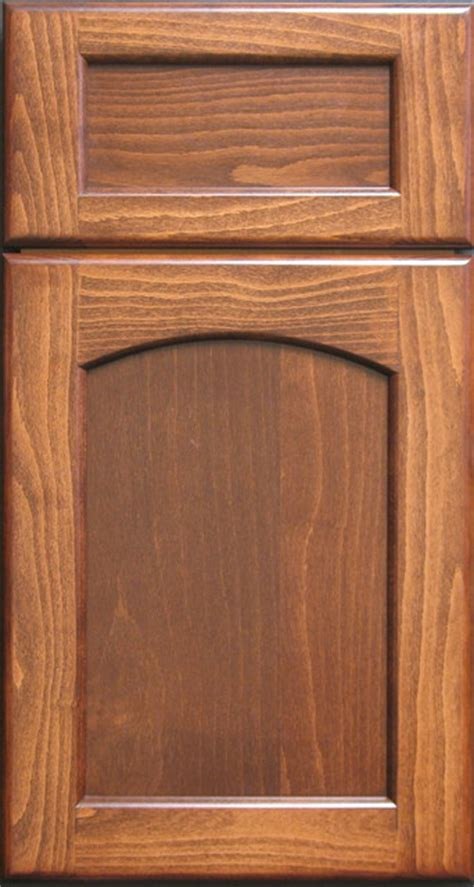Beech Kitchen Cabinet Doors European Steemed Beech Radius Arched Shaker Cabinet Door Traditional Other Metro By Style