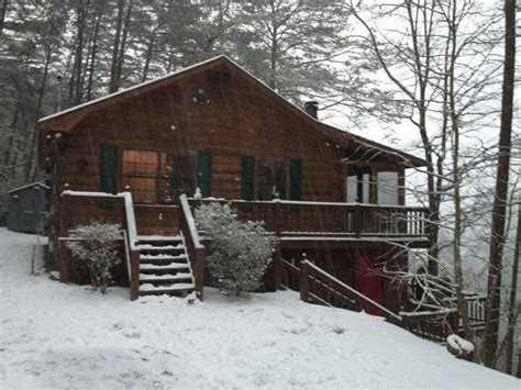 Snowy Cabin In The Woods by Cabin In The Snowy Woods The Enchanted 7 Acre Wood