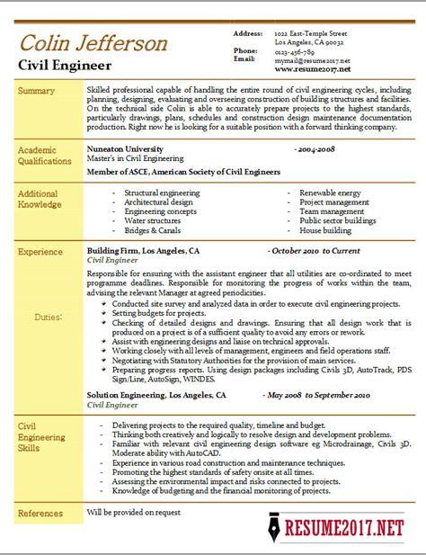 resume in civil engineering ideas navy civil engineer sle resume