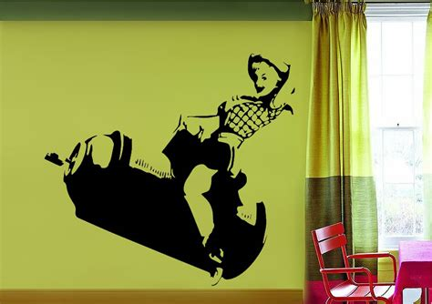 banksy wall stickers uk spray can banksy wall stickers adhesive wall sticker