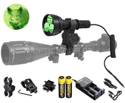 orion mc  lumen brightest green hog hunting light rechargeable mountable ebay