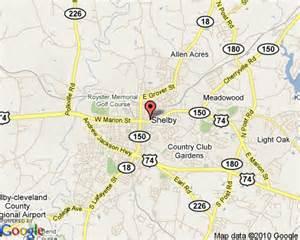 map of shelby carolina 404 not found